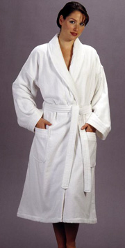 Terry Velour Shawl Spa Robe